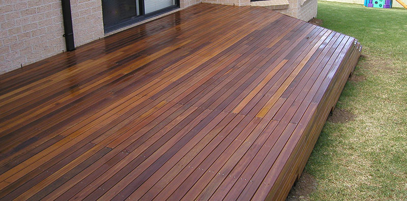 small deck construction